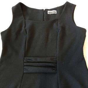 Black sleeveless Selina Studio midi dress size 10